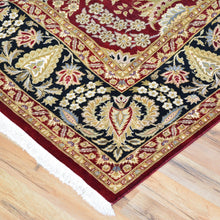 Load image into Gallery viewer, Hand-Knotted Fine Traditional Design Wool Silk Handmade Rug (Size 8.1 X 10.2) Brral-1083