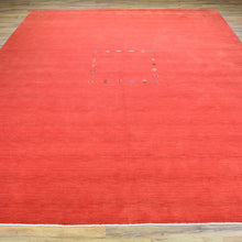 Load image into Gallery viewer, Loomed Modern Gabbeh Contemporary Wool Rug (Size 9.1 X 11.11) Brral-1215