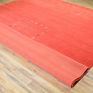 Loomed Modern Gabbeh Contemporary Wool Rug (Size 9.1 X 11.11) Brral-1215