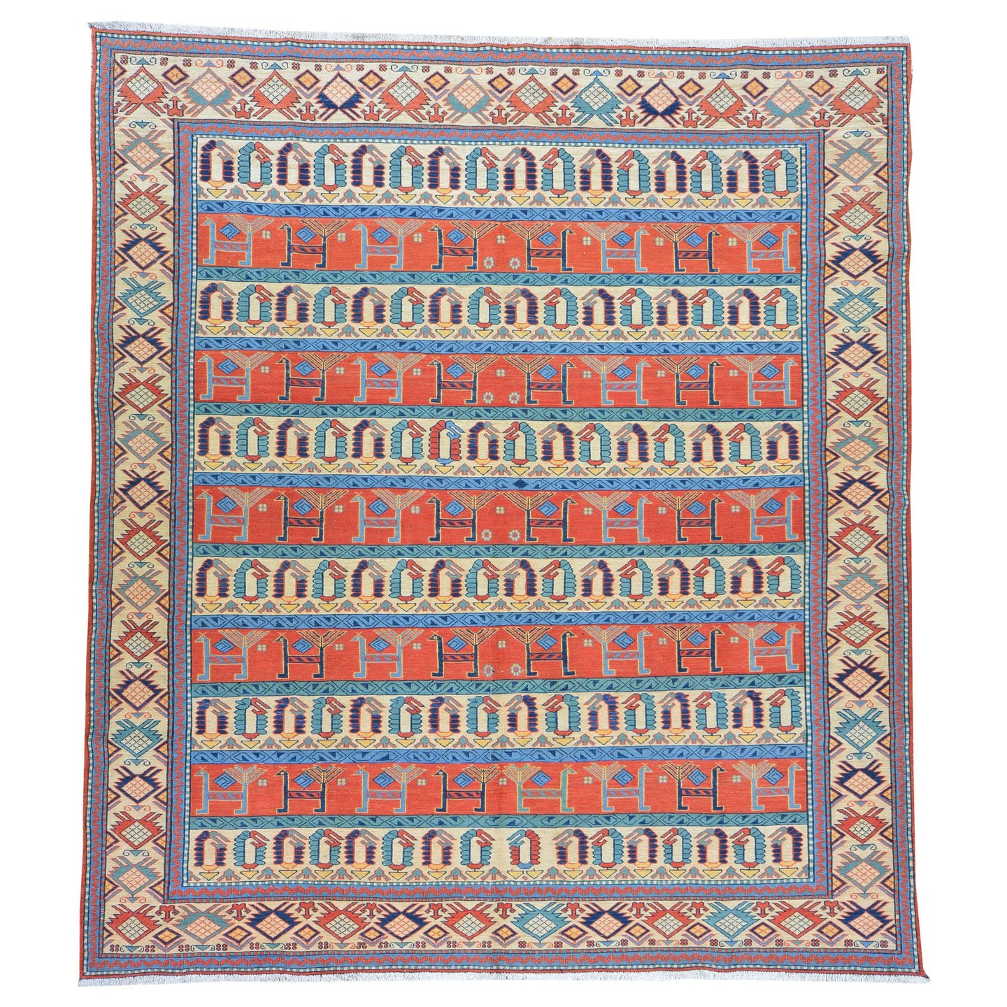 Oriental rugs, hand-knotted carpets, sustainable rugs, classic world oriental rugs, handmade, United States, interior design,  Brrsf-6057