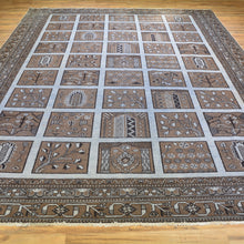 Load image into Gallery viewer, Hand-Knotted  Bakhtyari Overdyed Handamde Wool Rug (Size 9.4 X 12.5) Brrsf-1194