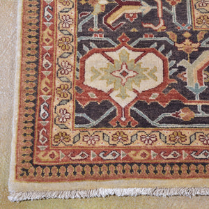 Hand-Knotted New Serapi Design Wool Handmade Rug (Size 7.11 X 9.9) Brrsf-1281