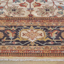 Load image into Gallery viewer, Hand-Knotted New Serapi Design Wool Handmade Rug (Size 7.11 X 9.9) Brrsf-1281