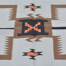 Load image into Gallery viewer, Hand-Woven Southwestern Design Handmade Flatweave Wool Rug (Size 5.2 X 7.1) Brrsf-1314