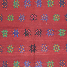 Load image into Gallery viewer, Sumak Turkish Tribal Kilim Handmade Wool Rug (Size 4.7 X 7.4) Brral-3825