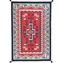 Load image into Gallery viewer, Hand-Woven Reversible Dhurrie Kilim Southwestern Design Rug (Size 6.1 X 9.0) Brral-4044