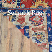 Load image into Gallery viewer, Hand-Woven Tribal Afghan Soumak Caucasian Design Wool Rug (Size 5.11 X 7.11) Brral-4113