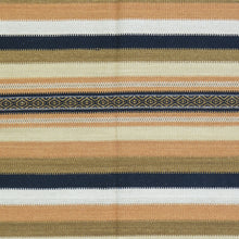 Load image into Gallery viewer, Hand-Woven Reversible Flatweave Handmade Wool Rug (Size 5.5 X 7.6) Brral-4212