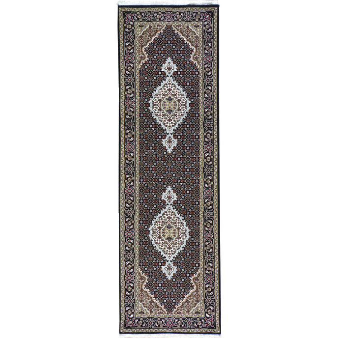 Hand-Knotted Indo Traditional Classic Design Rug (Size 2.6 X 8.2) Brral-4512