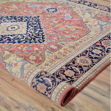 Load image into Gallery viewer, Hand-Knotted Fine Traditional Classic Design Wool Rug (Size 8.1 X 9.10) Brral-5526