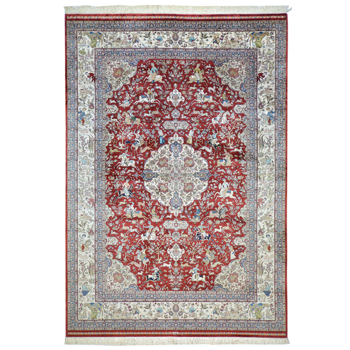 Oriental rugs, hand-knotted carpets, sustainable rugs, classic world oriental rugs, handmade, United States, interior design,  Cwral-6810