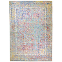 Load image into Gallery viewer, Oriental rugs, hand-knotted carpets, sustainable rugs, classic world oriental rugs, handmade, United States, interior design,  Cwral-7425