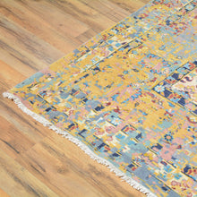 Load image into Gallery viewer, Hand-Knotted Broken Design Handmade Wool/Silk Rug (Size 10.0 X 13.9) Cwral-7425