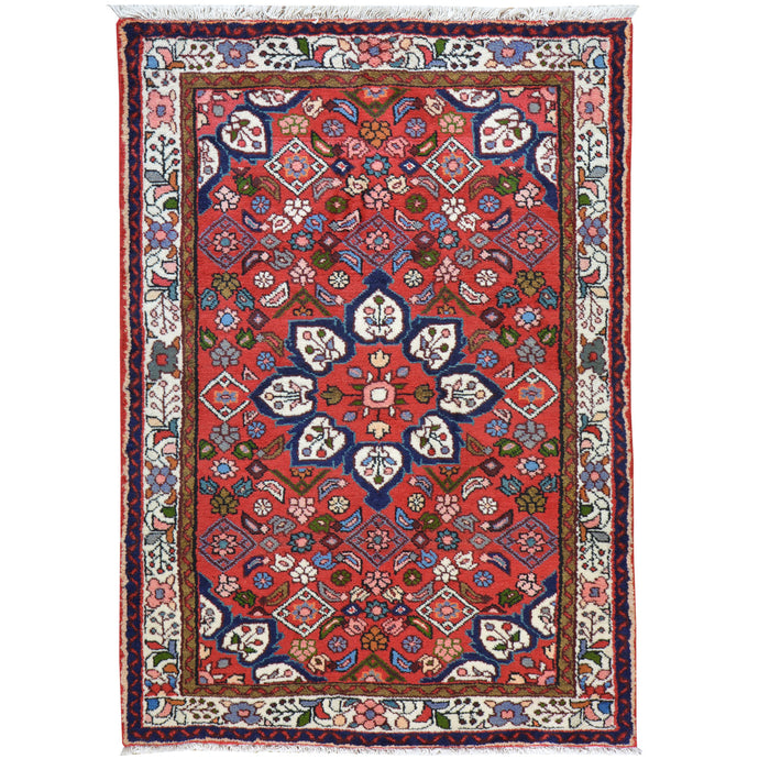 Hand-Knotted Oriental Persian Tribal Handmade Wool Rug (Size 3.6 X 5.0) Cwral-7767