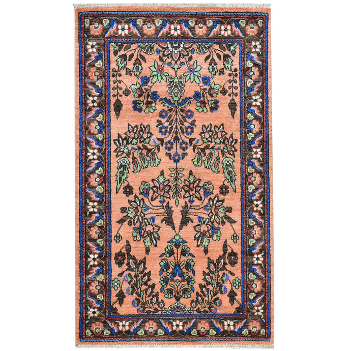 Hand-Knotted Oriental Pak Tribal Handmade Wool Rug (Size 3.1 X 5.3) Cwral-7770