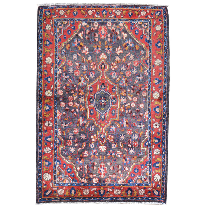 Hand-Knotted Oriental Persian Tribal Handmade Wool Rug (Size 3.9 X 5.9) Cwral-7923