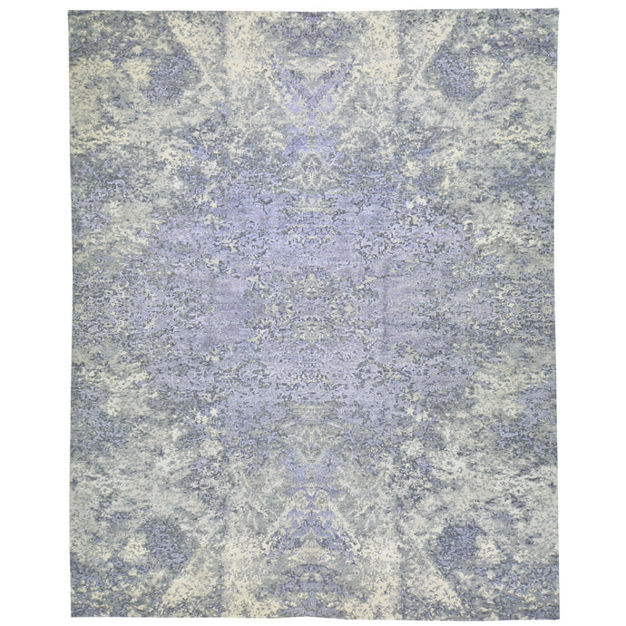 Hand-Knotted Modern Design Handmade Wool Rug (Size 8.0 X 9.9) Cwral-8217
