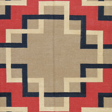 Load image into Gallery viewer, Hand-Woven Southwest Design Wool Reversible Kilim Rug (Size 8.0 X 10.0) Brral-2124