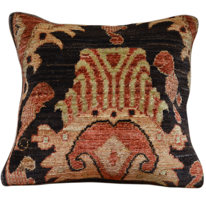 15 x 17 Southwestern Design Hand-knotted Afghan Handmade Pillow Cover Cwpal-540