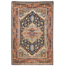 Load image into Gallery viewer, Oriental rugs, hand-knotted carpets, sustainable rugs, classic world oriental rugs, handmade, United States, interior design,  Brral-4263