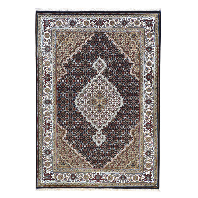 Hand-Knotted Tabriz Design Handmade Wool Rug (Size 4.0X 5.10) Brral-6642