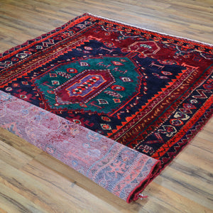 Hand-Knotted Persian Vintage Wool Handmade Rug (Size 4.6 X 6.6) Brral-2229