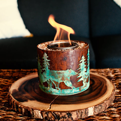 Micro Bear in Forest - BABY FIRE PITS