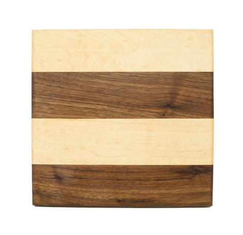 Wood Trivet - Striped/Small - Discounted