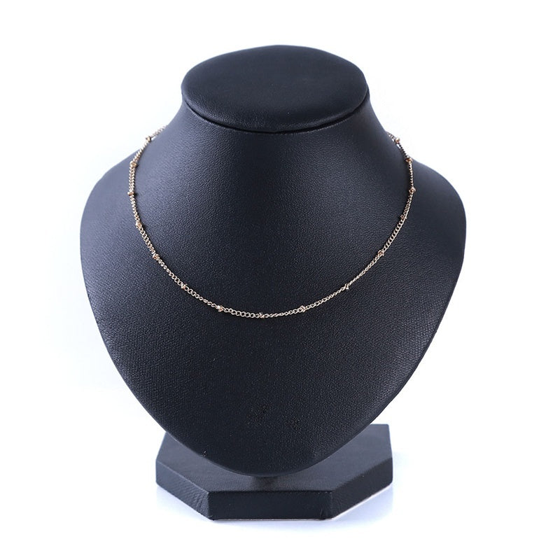 Casual Necklace Simple Personality Beach Chain Chocker Chain Female Gift
