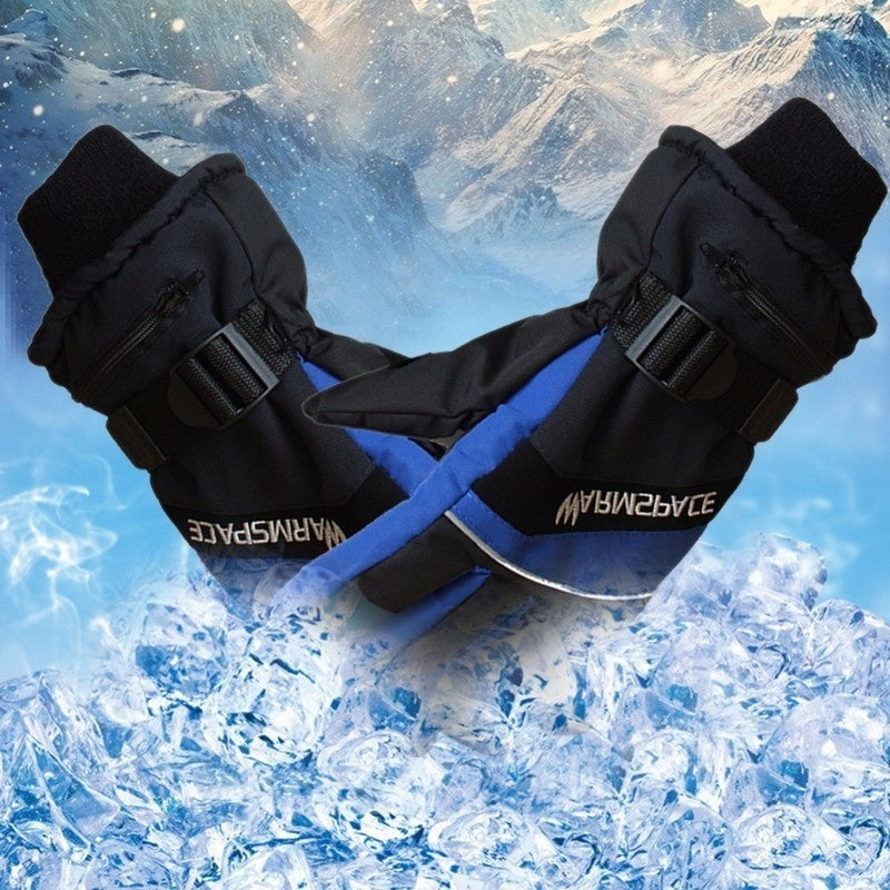 Winter USB Hand Warmer Electric Thermal Gloves Rechargeable Battery Heated Gloves Cycling Motorcycle Bicycle Ski Gloves Unisex