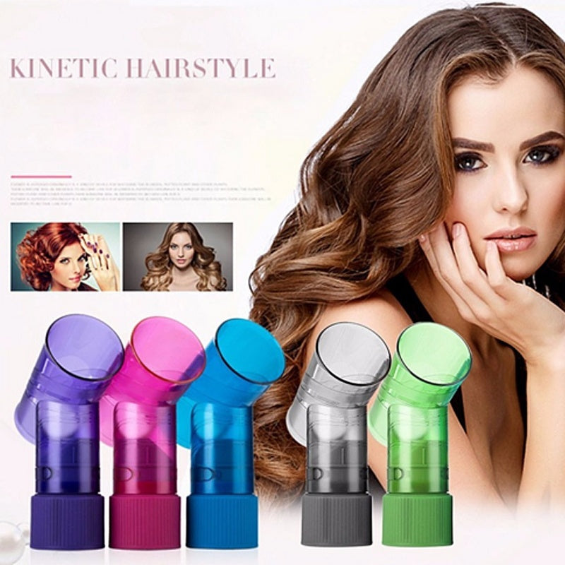 Portable Hair Dryer Diffuser Magic Wind Spin Curl Hair Roller Curler Maker Professional Salon Hairdressing Styling Tool