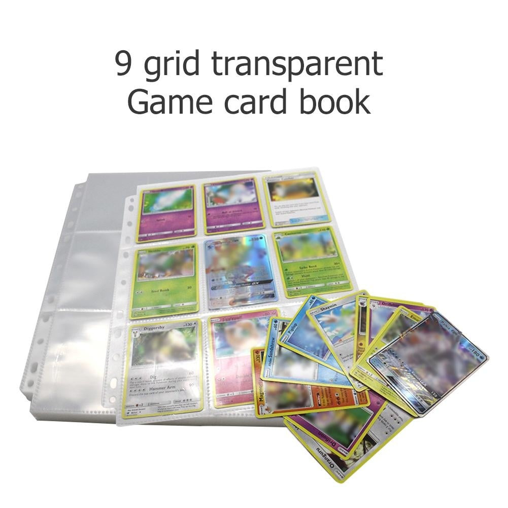 18 Cards Capacity Game Card Holder Collection Album Book for Pokemon TCG MTG