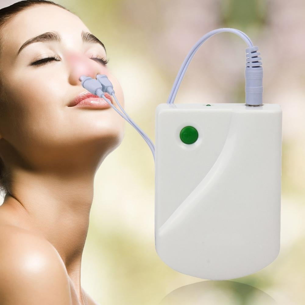 Nose Rhinitis Sinusitis Cure Wire Infrared Therapy Laser Nose Massager Line