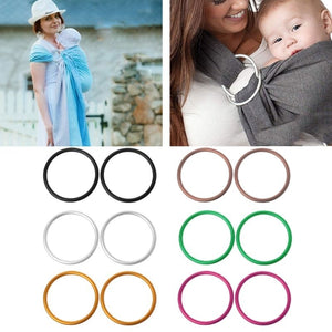 2Pcs/Set Baby Carriers Aluminium Baby Sling Rings For Baby Carriers & Slings High Quality Baby Carriers Accessories PHO