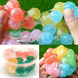 60ML Clay Slime DIY Soft Cotton Slime Waxberry Colour Ball Mud Mixing Cloud Slime