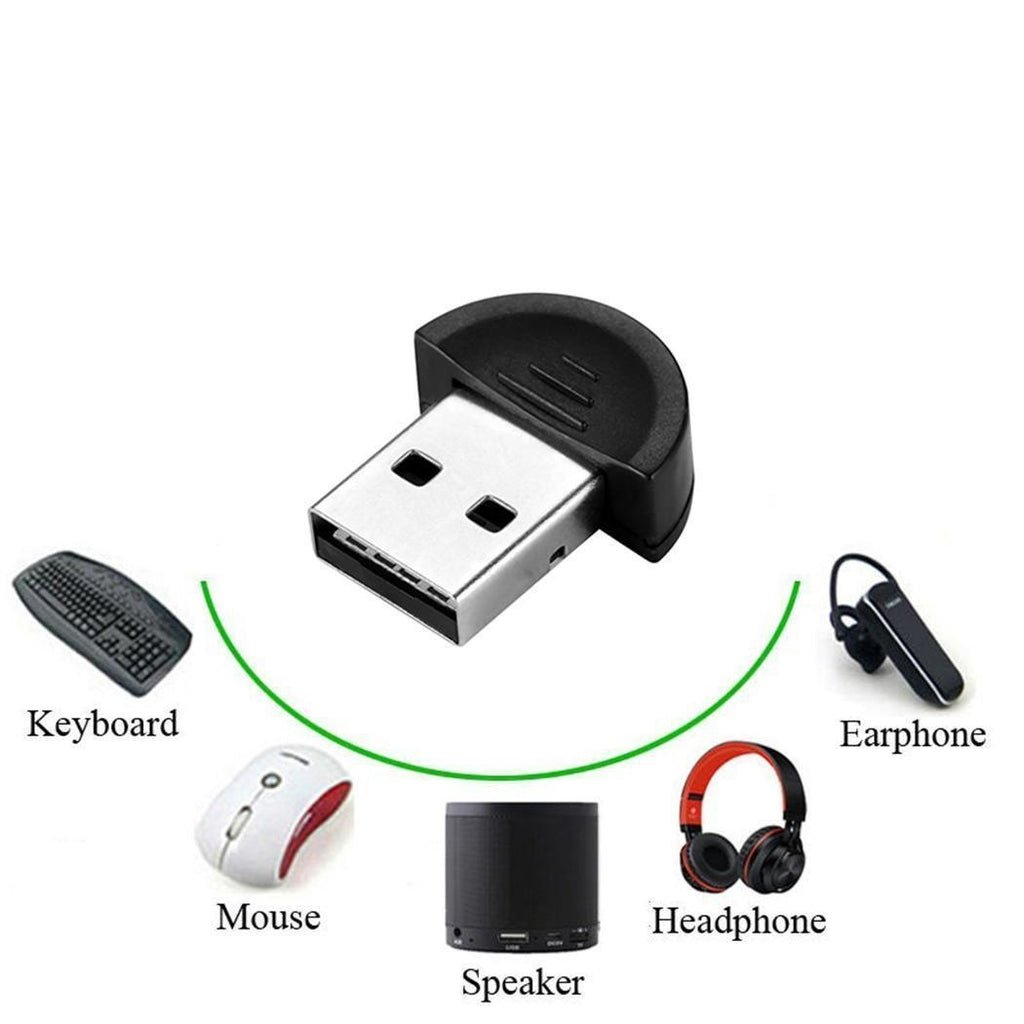 Mini USB Bluetooth 4.0 Adapter Bluetooth Receiver Wireless Adapter USB2.0 Dongle Bluetooth Transmitter Adapter for Stereo Music Keyboard Mouse Headset PC Windows  adaptador bluetooth