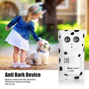 Anti Bark Dog Silencer Ultrasonic Dog Repellent Wall-mounted Dog Bark Control Voice-activated Anti Barking Device Bark Stopper for Small To Medium Dog US/UK/EU/AU Plug