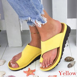 SSHOUSE Women's Summer Fashion Beach Slippers Leather Wedges Open Toe Shoes Ladies Platform Slippers wshC-190521020A21