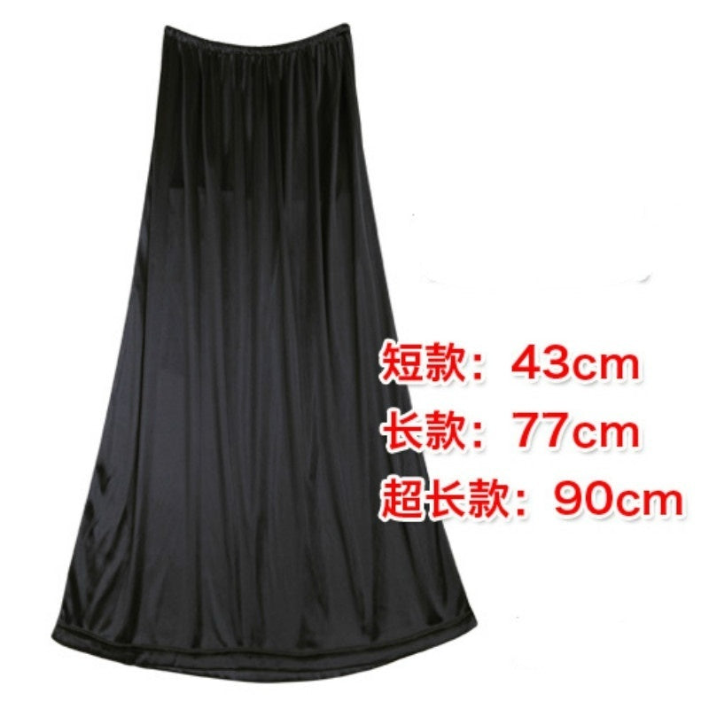 Women Half Slip Underskirt Petticoat Cling Resistant Stretch Cool Comfort 3 Length 6 Colors