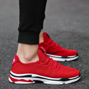 Summer Fashion Plus Size Men Women Casual Shoes Couple Air Mesh Breathable Durable Running Outdoor Lace-Up Sneaker