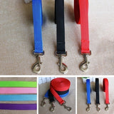 1.5/1.8/3/4.5/6M Dog Pet Lead Leash Dogs Cats Nylon Dog Lead Rope Outdoor Security Training Dog Recall Rope Selectable Size