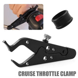 CNC Universal Motorcycle Cruise Control Throttle Lock Assist Grip Kit