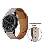 22mm huami amazfit strap pebble time for Samsung Gear S3 Classic Frontier huawei GT honor magic  Band ticwatch 1.