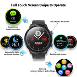 L3 Smart Watch Full Round Touch Men Multi-function Screen Sports Smartwatch Long StandbyIP68 Waterproof Heart Rate Blood Pressure Monitor Fitness Tracker Smart Band Wristwatch
