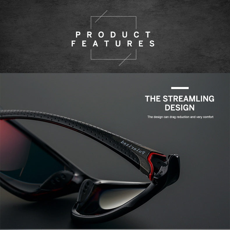 Men Polarized Sunglasses Camouflage Frame Tactics Goggle Glasses Fashion Polarized UV400 Sunglasses Outdoor Polarized Sports Driving Riding Cycling Fishing Sunglasses