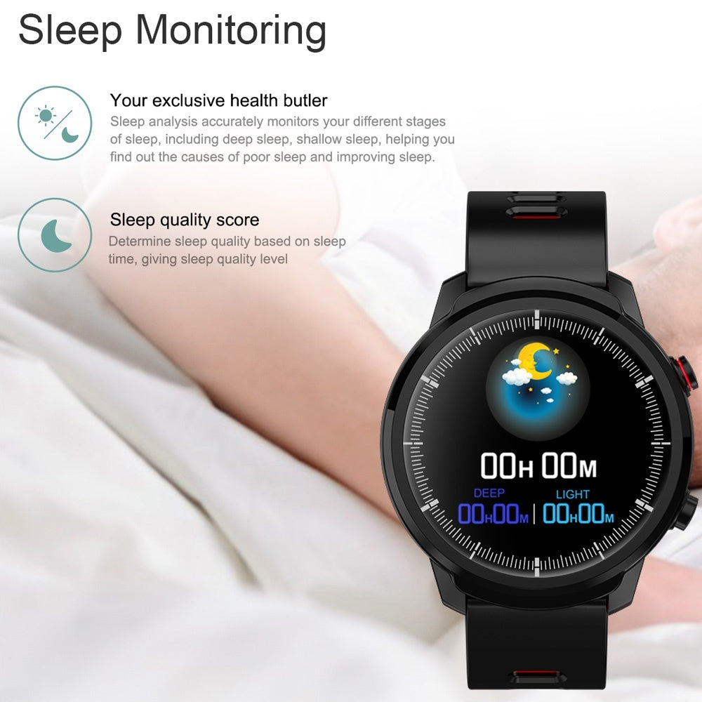 2019 New Smart Watch L3 IP68 Waterproof Heart Blood Pressure Multi-Sports Mode Man Smart Bracelet Reloj Inteligente Intelligente Uhr for IOS Android