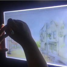 将图片加载到图库查看器,A5 Led Drawing Tablet Thin Art Stencil Drawing Board Light Box Bracing Table Pad 24*15cm