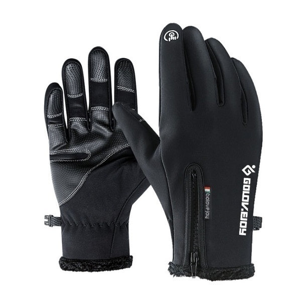 New Ski Gloves Unisex Winter Thermal Outdoor Sports Waterproof and Windproof Touch Screen Gloves