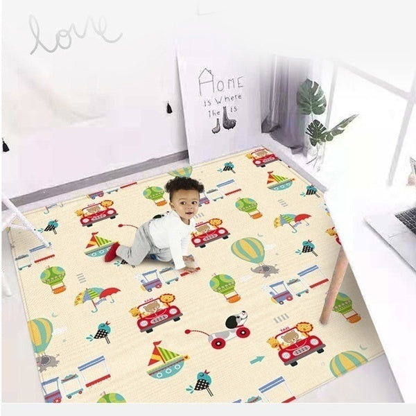 Double Sided Baby Crawling Mat Kids Play Mat Game Carpet Rugs Indoor Outdoor Tapis Enfant Waterproof Tapete Infanti