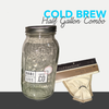 Cold Brew Combo (Half gallon)